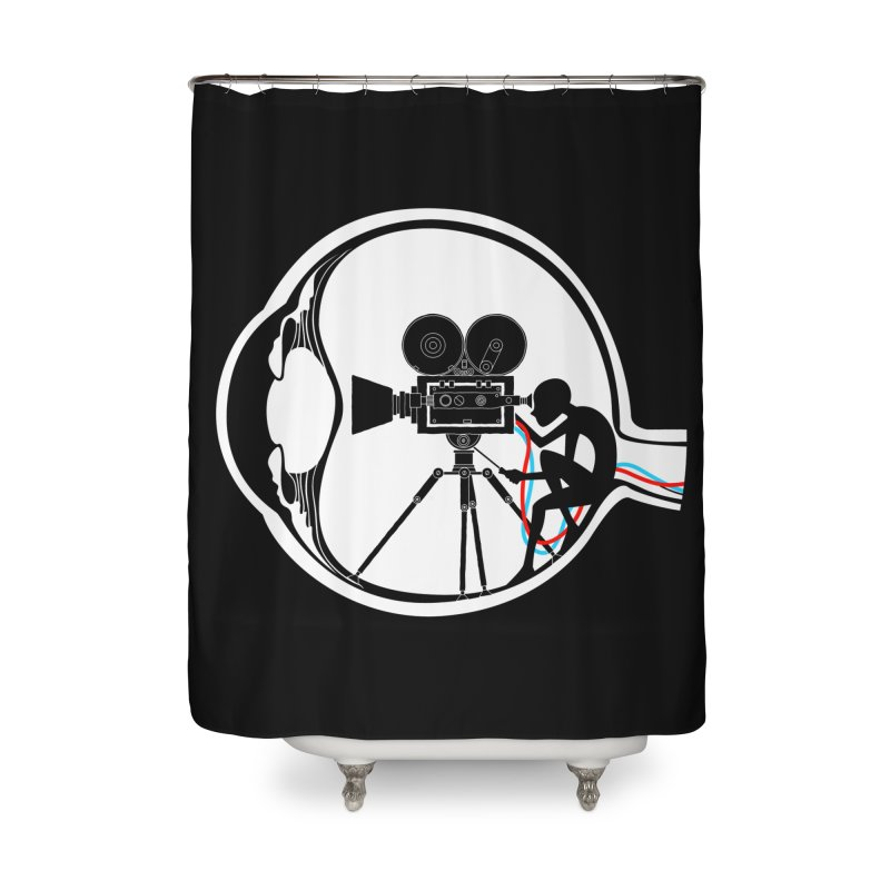 Vision Director Home Shower Curtain by Flying Mouse365