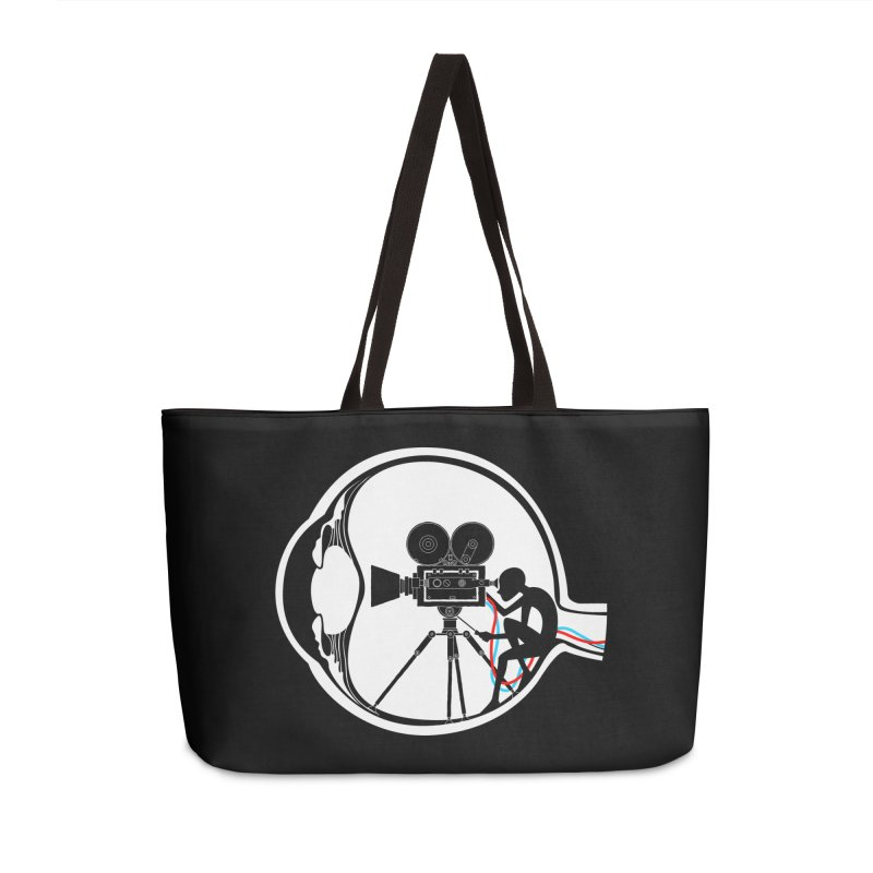 Vision Director Accessories Weekender Bag Bag by Flying Mouse365