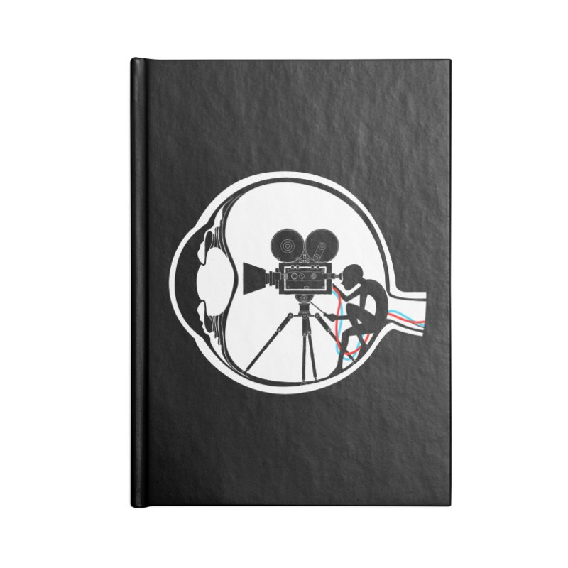 Vision Director Accessories Lined Journal Notebook by Flying Mouse365
