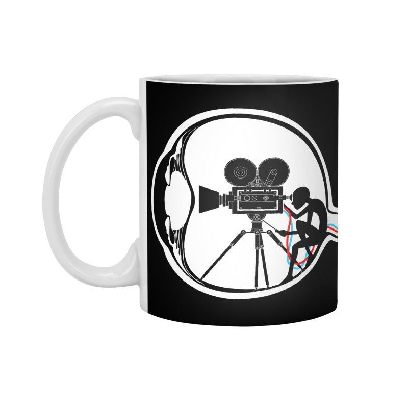 Vision Director Accessories Standard Mug by Flying Mouse365