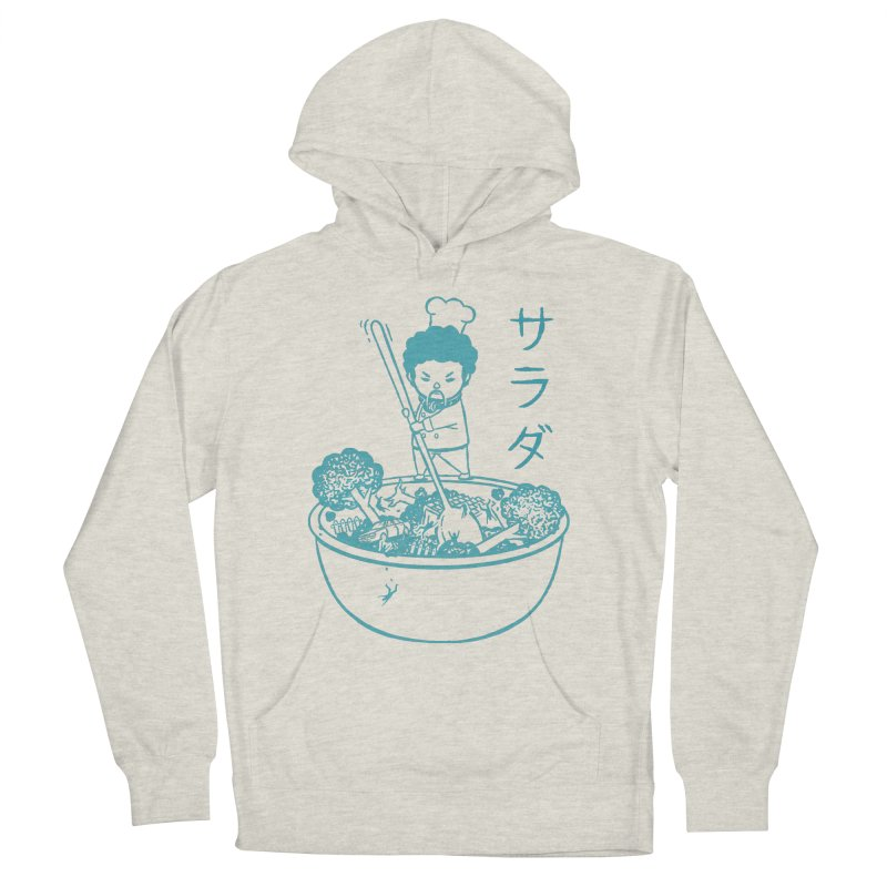 OH MY GOR - Garden Salad Men's French Terry Pullover Hoody by Flying Mouse365