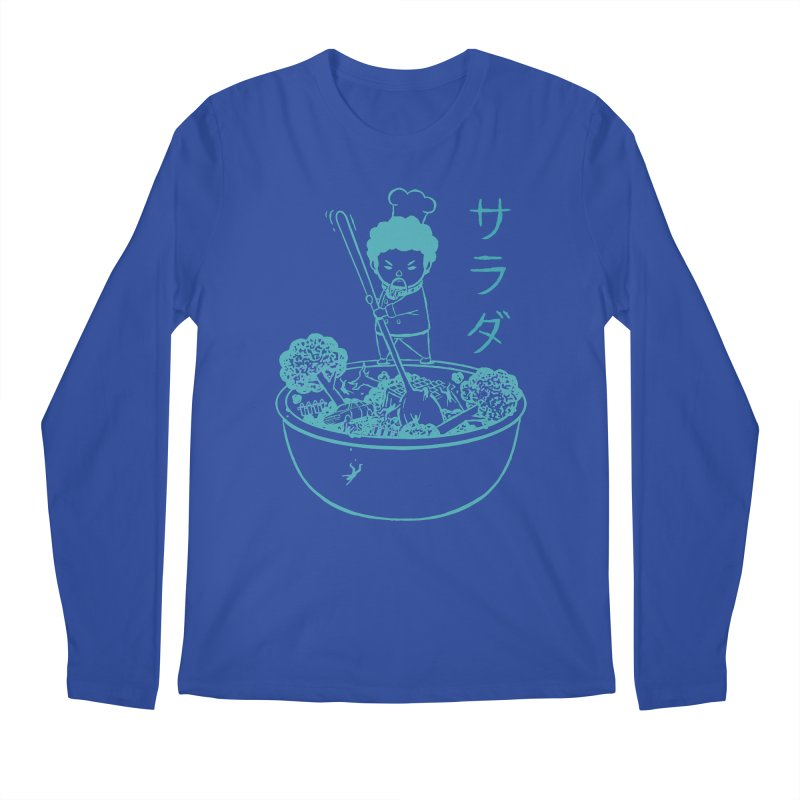 OH MY GOR - Garden Salad Men's Longsleeve T-Shirt by Flying Mouse365