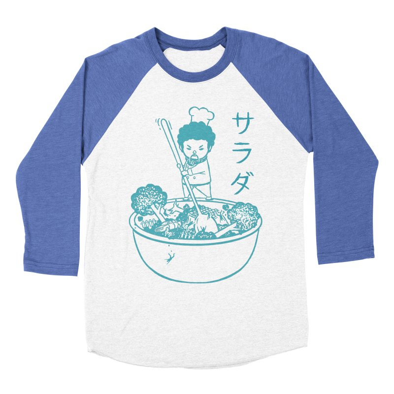 OH MY GOR - Garden Salad Men's Baseball Triblend Longsleeve T-Shirt by Flying Mouse365