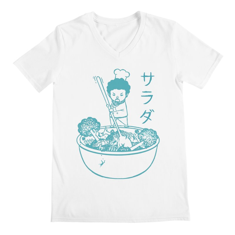 OH MY GOR - Garden Salad Men's V-Neck by Flying Mouse365