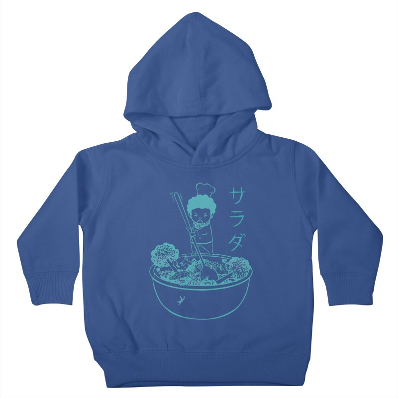 OH MY GOR - Garden Salad Kids Toddler Pullover Hoody by Flying Mouse365