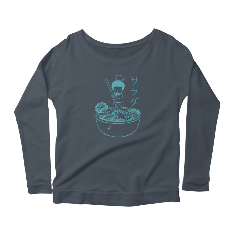 OH MY GOR - Garden Salad Women's Longsleeve T-Shirt by Flying Mouse365