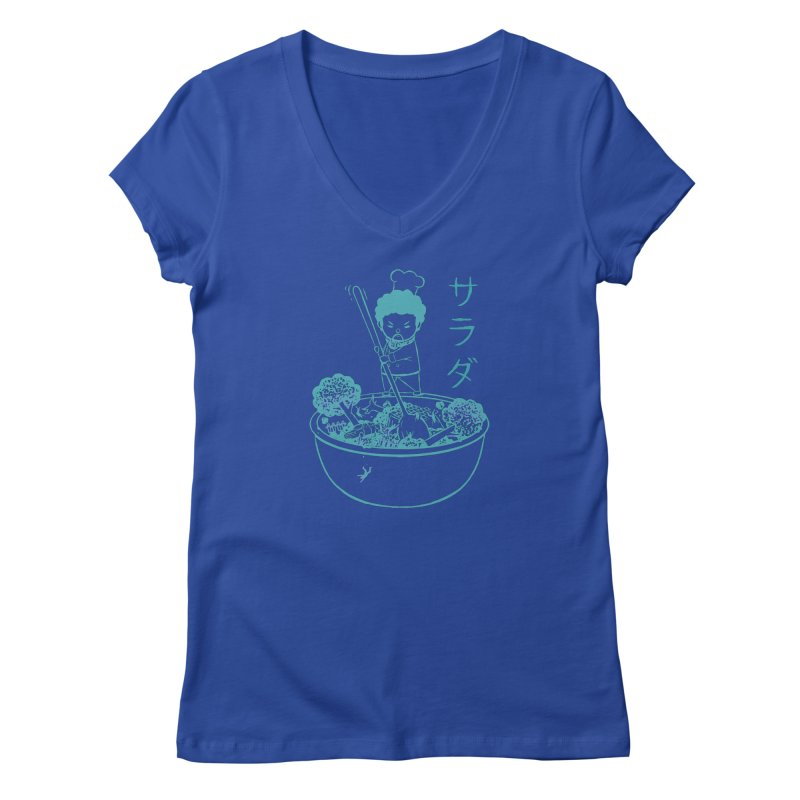 OH MY GOR - Garden Salad Women's V-Neck by Flying Mouse365