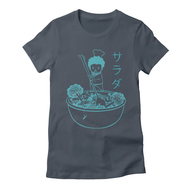 OH MY GOR - Garden Salad Women's Fitted T-Shirt by Flying Mouse365