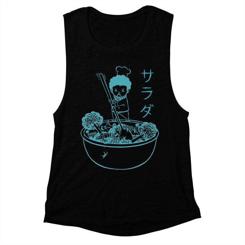 OH MY GOR - Garden Salad Women's Muscle Tank by Flying Mouse365