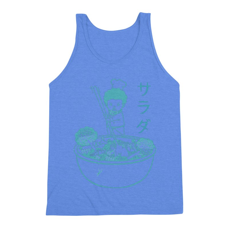 OH MY GOR - Garden Salad Men's Triblend Tank by Flying Mouse365