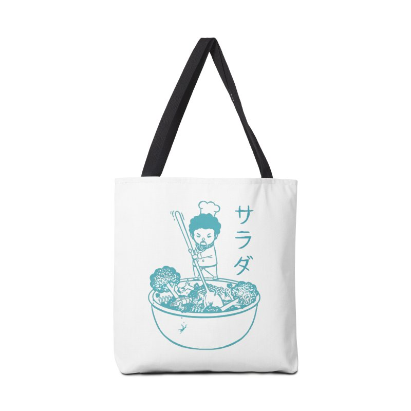 OH MY GOR - Garden Salad Accessories Tote Bag Bag by Flying Mouse365
