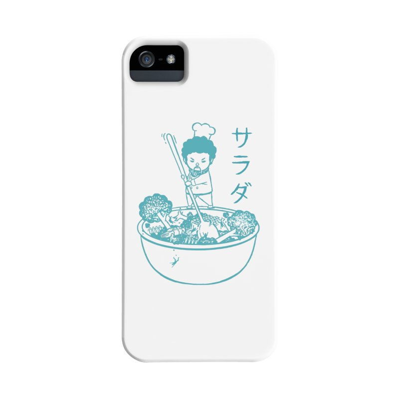 OH MY GOR - Garden Salad Accessories Phone Case by Flying Mouse365