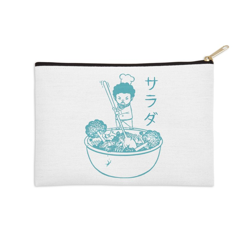 OH MY GOR - Garden Salad Accessories Zip Pouch by Flying Mouse365
