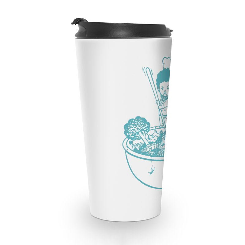 OH MY GOR - Garden Salad Accessories Travel Mug by Flying Mouse365