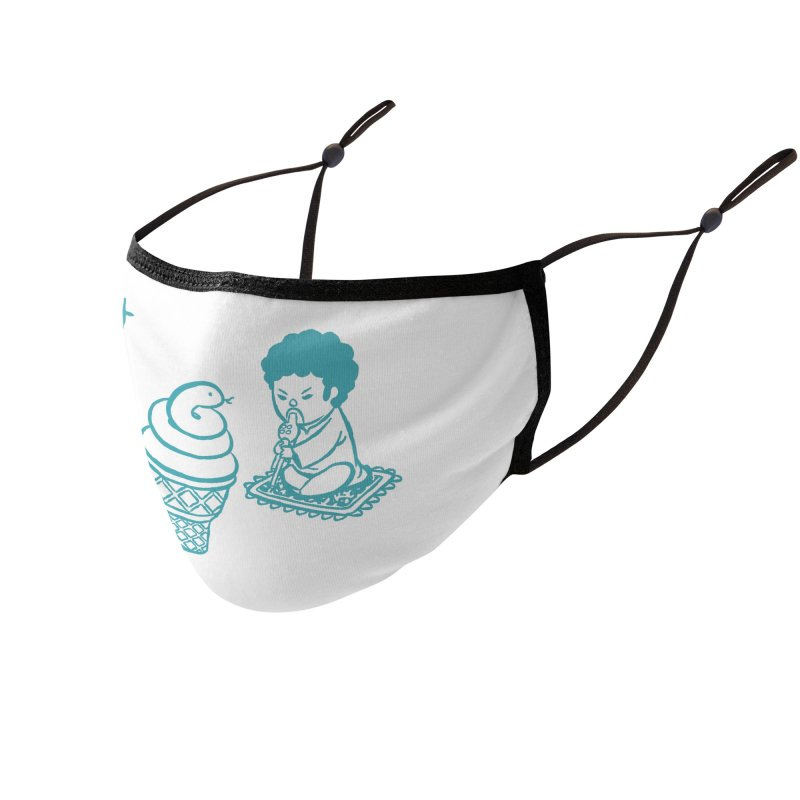 Sundae Dancing Accessories Face Mask by Flying Mouse365