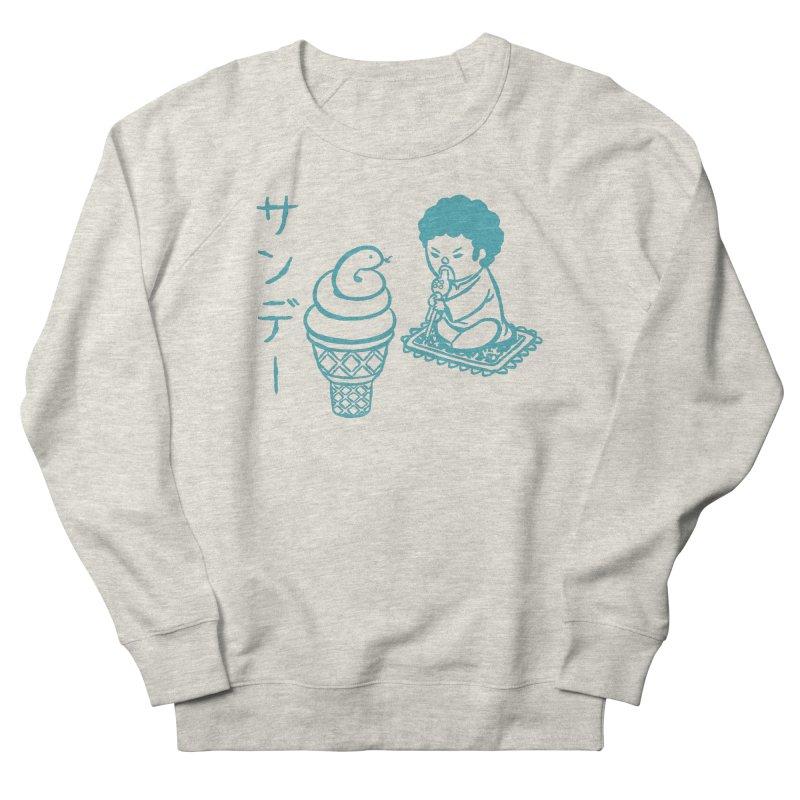 Sundae Dancing Women's Sponge Fleece Sweatshirt by Flying Mouse365