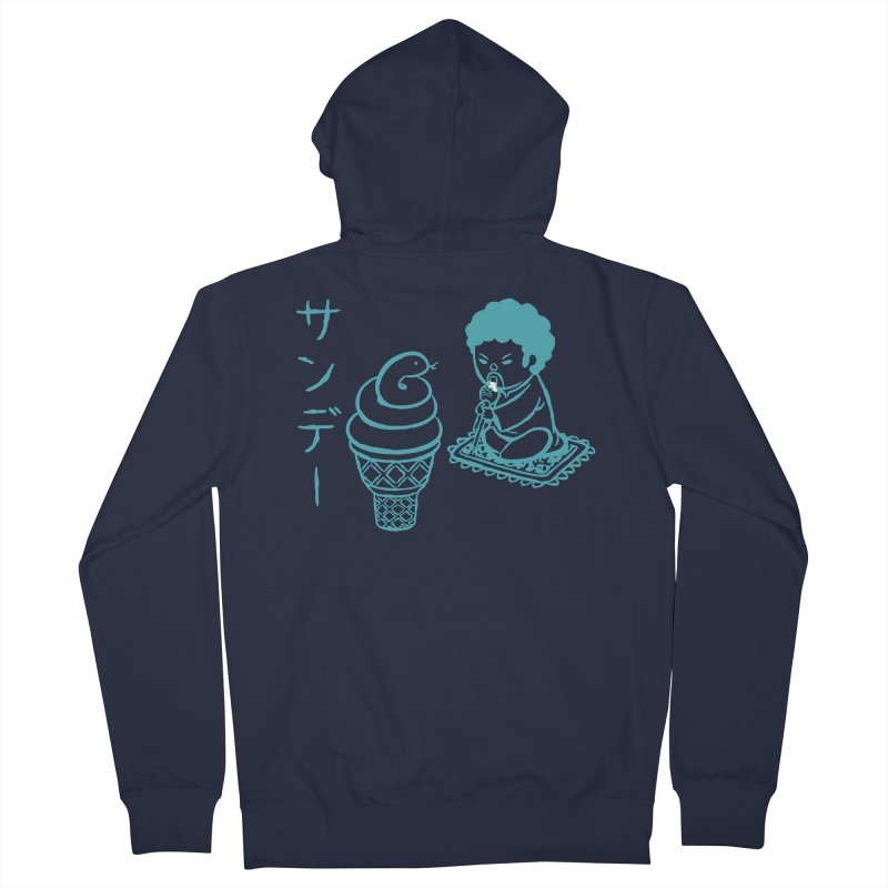 Sundae Dancing Women's Zip-Up Hoody by Flying Mouse365