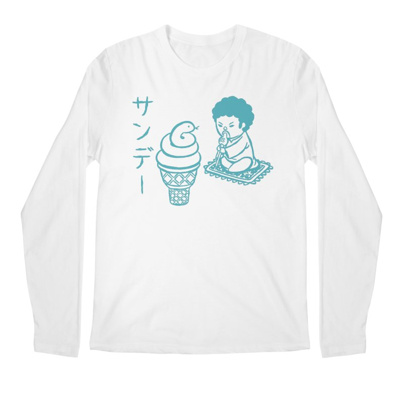 Sundae Dancing Men's Regular Longsleeve T-Shirt by Flying Mouse365