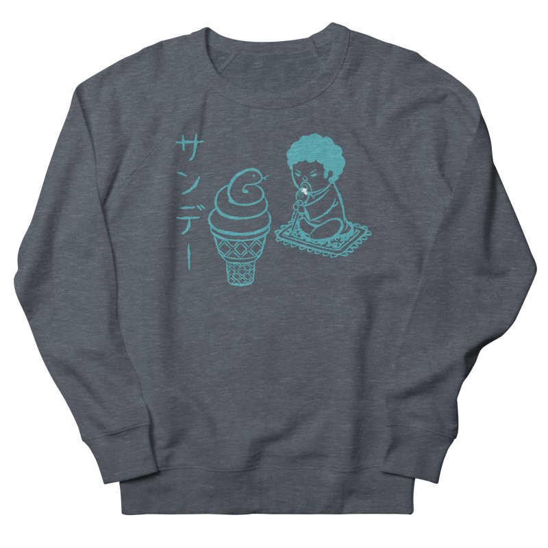 Sundae Dancing Women's French Terry Sweatshirt by Flying Mouse365