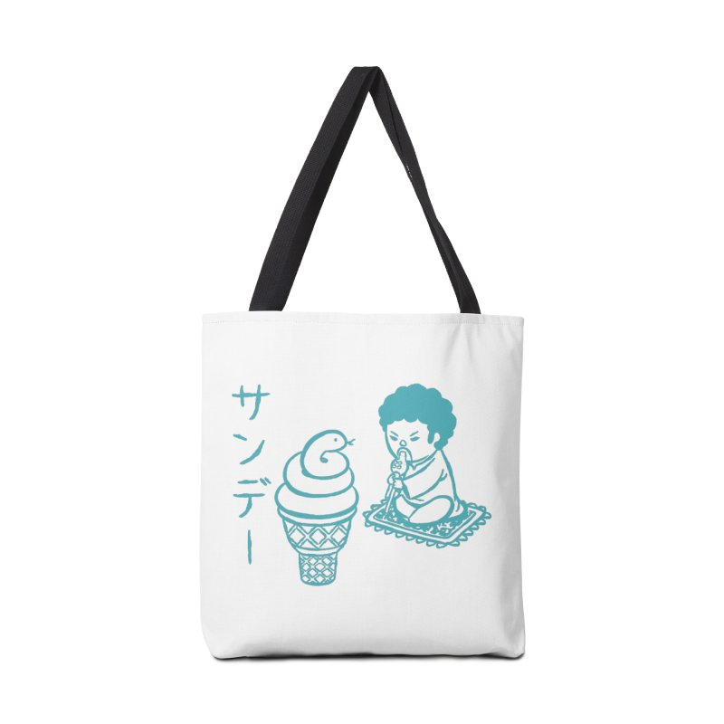 Sundae Dancing Accessories Tote Bag Bag by Flying Mouse365