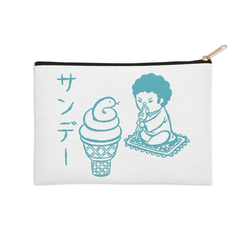 Sundae Dancing Accessories Zip Pouch by Flying Mouse365