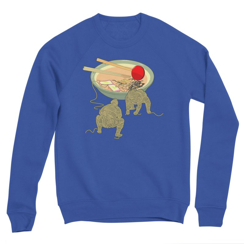 Sumo Ramen Men's Sweatshirt by Flying Mouse365
