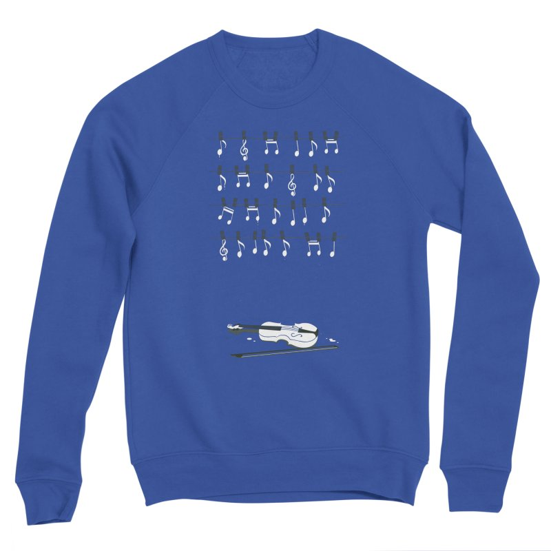 Sunshine Melody Men's Sweatshirt by Flying Mouse365