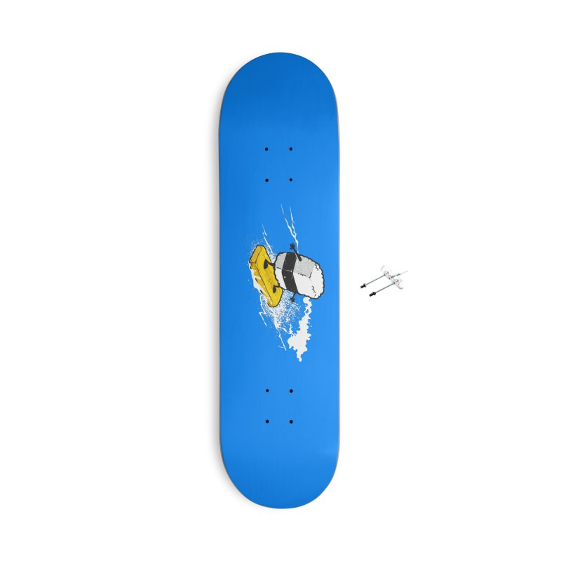 Surfing Day Accessories Skateboard by Flying Mouse365