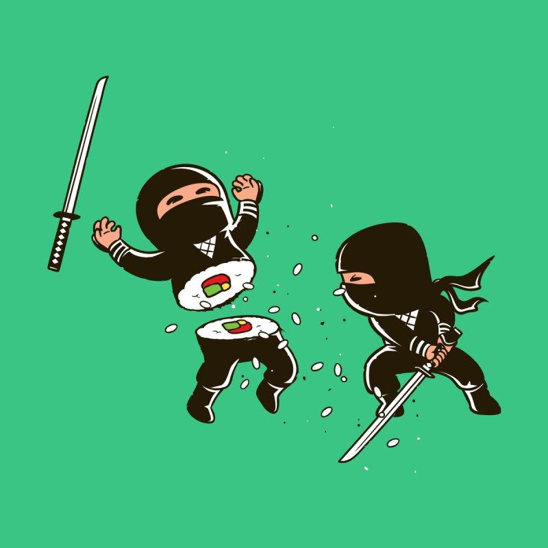Sushi Ninja Men's Sweatshirt by Flying Mouse365