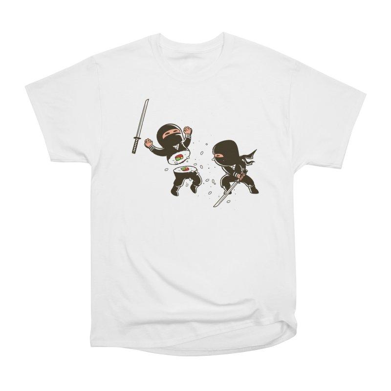 Sushi Ninja Women's T-Shirt by Flying Mouse365