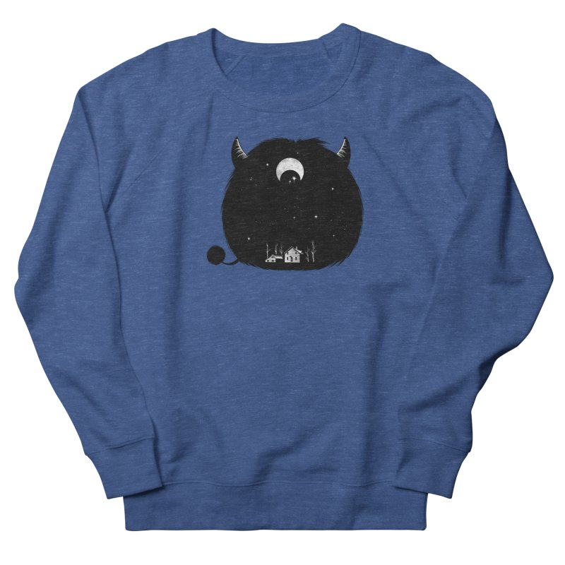 Swallowed By Darkness Men's Sweatshirt by Flying Mouse365
