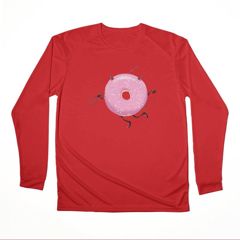 Tempt Of Devil Women's Longsleeve T-Shirt by Flying Mouse365