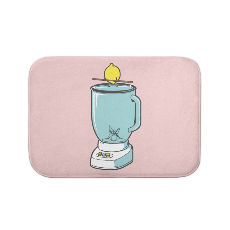 The Walk Home Bath Mat by Flying Mouse365