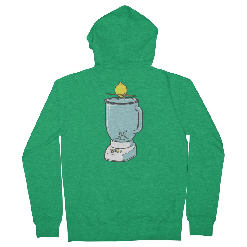 The Walk Men's Zip-Up Hoody by Flying Mouse365