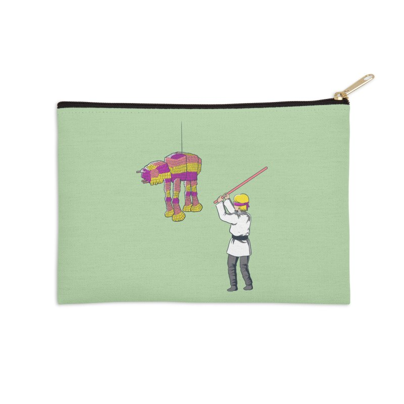 The War is Everywhere Accessories Zip Pouch by Flying Mouse365