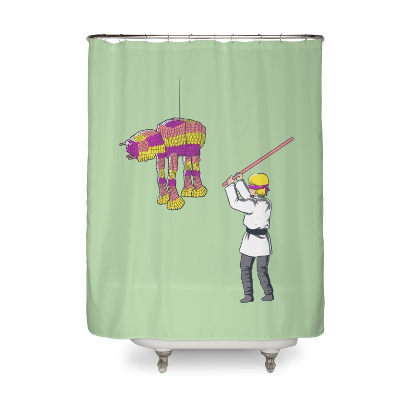 The War is Everywhere Home Shower Curtain by Flying Mouse365