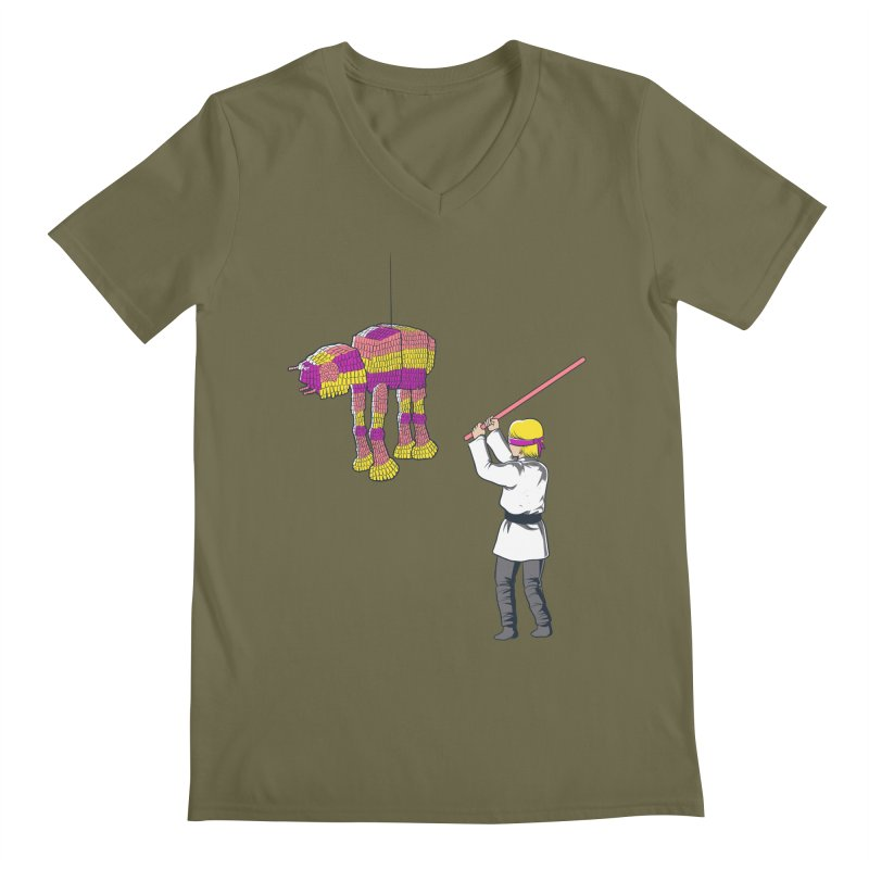 The War is Everywhere Men's V-Neck by Flying Mouse365
