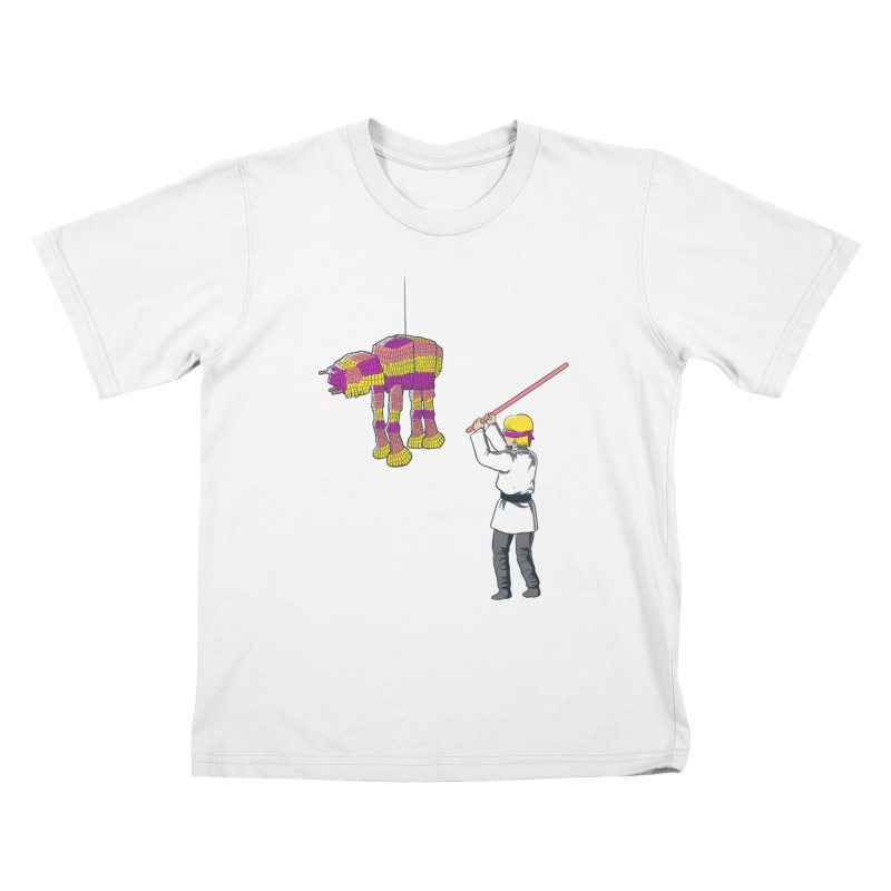 The War is Everywhere Kids T-Shirt by Flying Mouse365