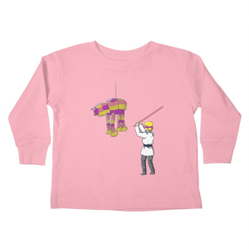 The War is Everywhere Kids Toddler Longsleeve T-Shirt by Flying Mouse365
