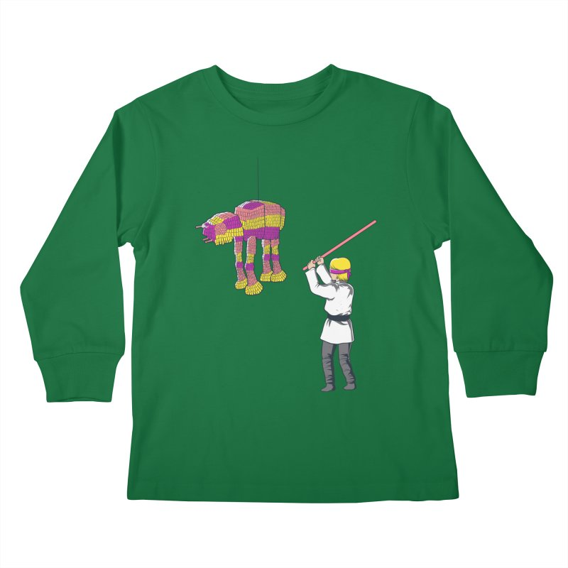 The War is Everywhere Kids Longsleeve T-Shirt by Flying Mouse365