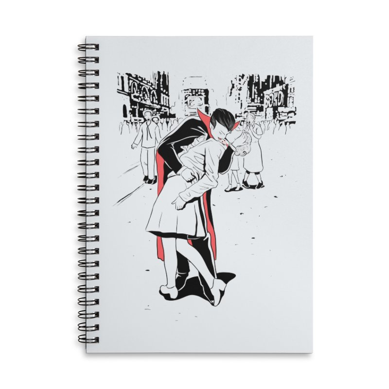 Time Square Bite Accessories Notebook by Flying Mouse365
