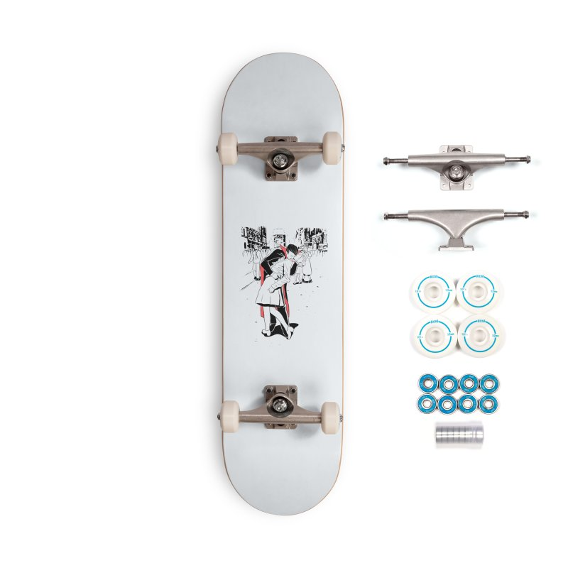 Time Square Bite Accessories Skateboard by Flying Mouse365