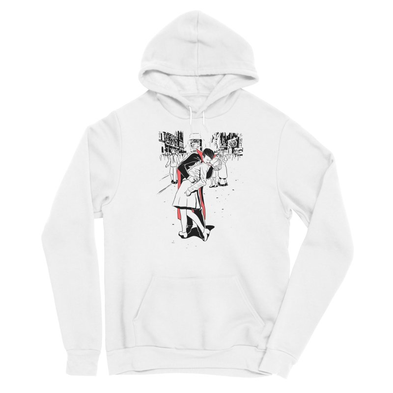 Time Square Bite Women's Pullover Hoody by Flying Mouse365
