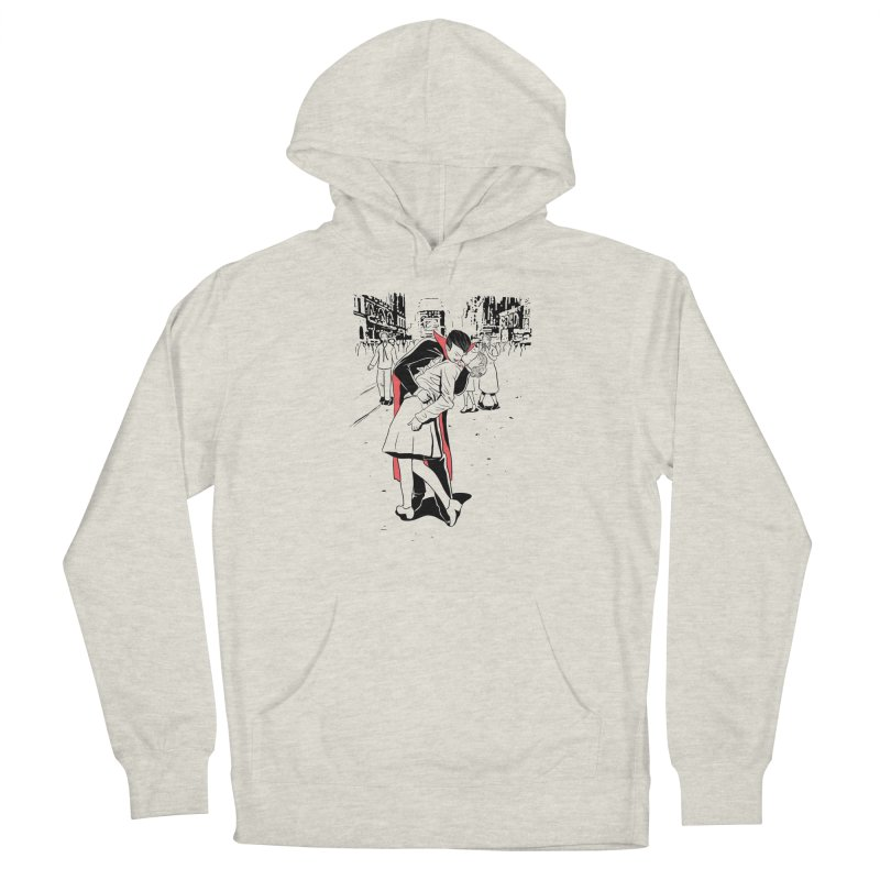 Time Square Bite Men's Pullover Hoody by Flying Mouse365