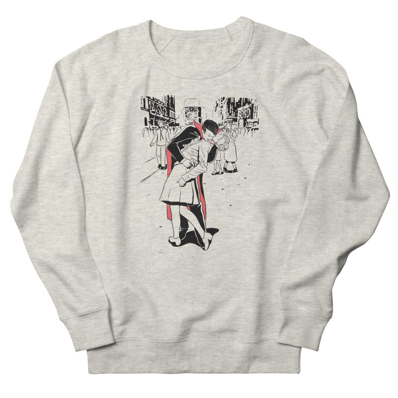 Time Square Bite Men's Sweatshirt by Flying Mouse365