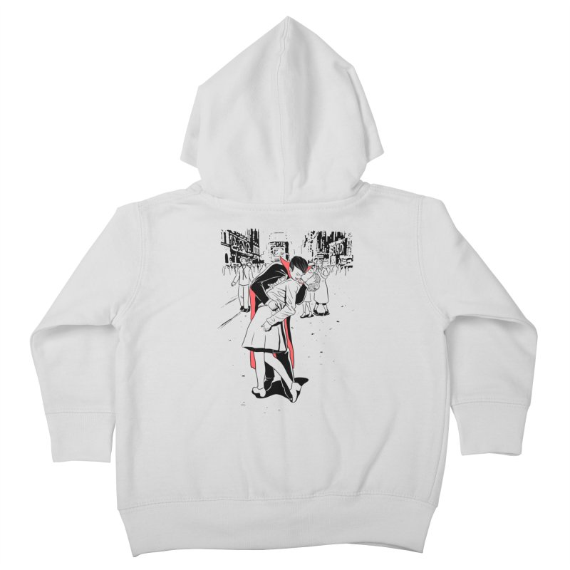 Time Square Bite Kids Toddler Zip-Up Hoody by Flying Mouse365