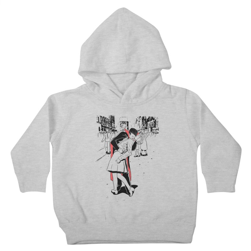 Time Square Bite Kids Toddler Pullover Hoody by Flying Mouse365