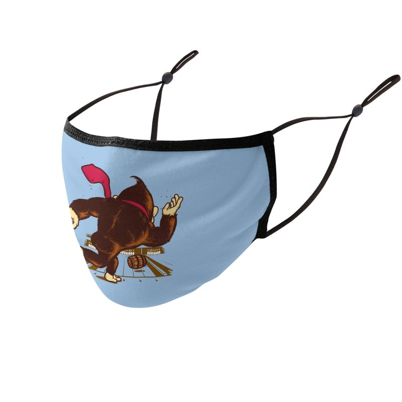 Training Field Accessories Face Mask by Flying Mouse365