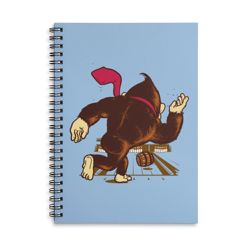 Training Field Accessories Notebook by Flying Mouse365