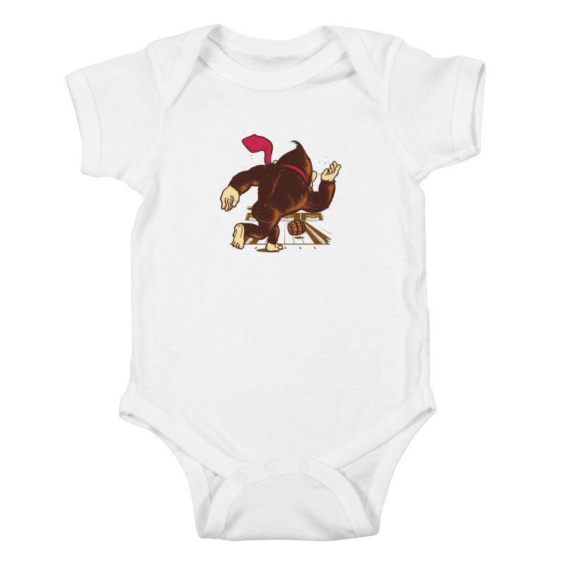 Training Field Kids Baby Bodysuit by Flying Mouse365